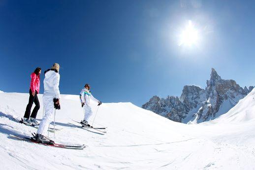 sciare san martino di castrozza