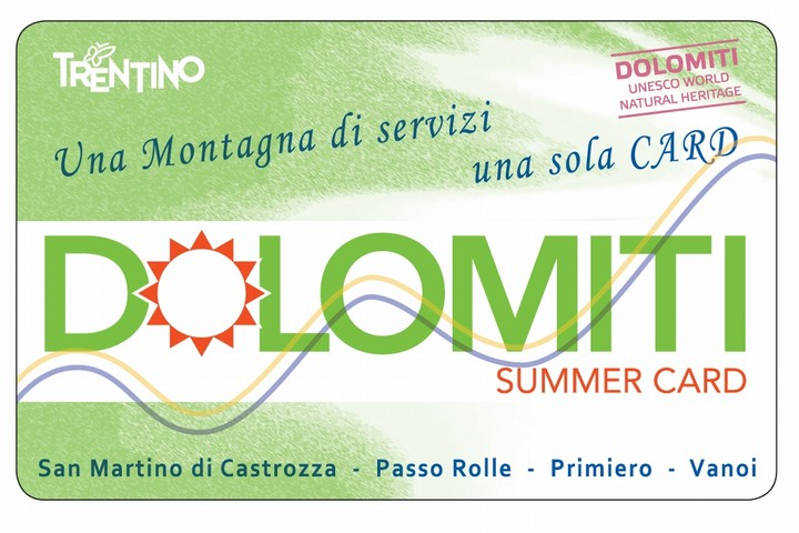 Dolomiti Summer Card
