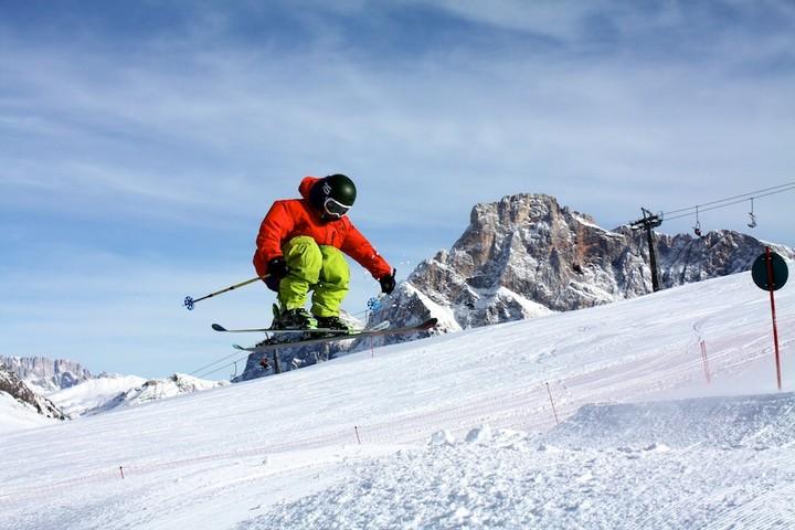 san martino snowpark tognola 15 Passo Rolle senza neve, anche il cannone tace
